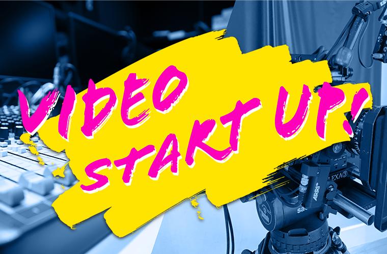 「VIDEO START UP!」あなたのオリジナルミュージックビデオをBIG UP!クリエイティブチームが制作します!